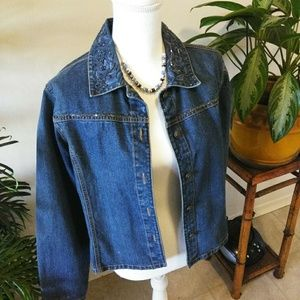 Petite Sophisticates  Denim / Jean Jacket